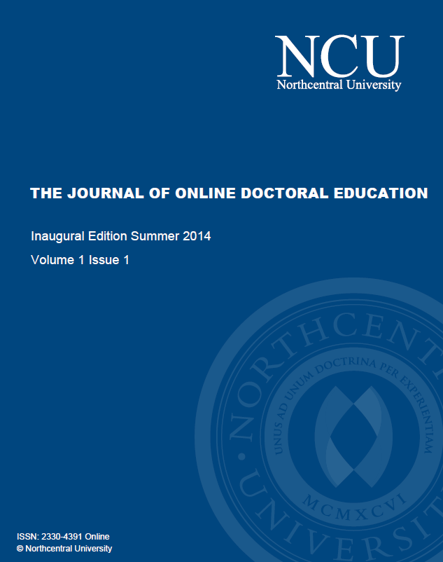 cover Journal of Online Doctoral Education