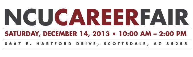 NCU Career Fair, December 14