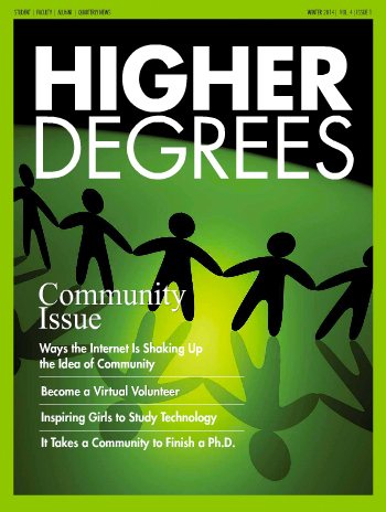 Higher Degrees Newsletter - Winter 2014