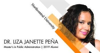 Portrait of Northcentral University Alumni, Dr. Pena