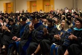 NCU students at graduation